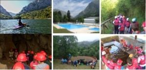 campamento en teverga Asturias