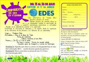 Campamento urbano de verano Fundación Edes