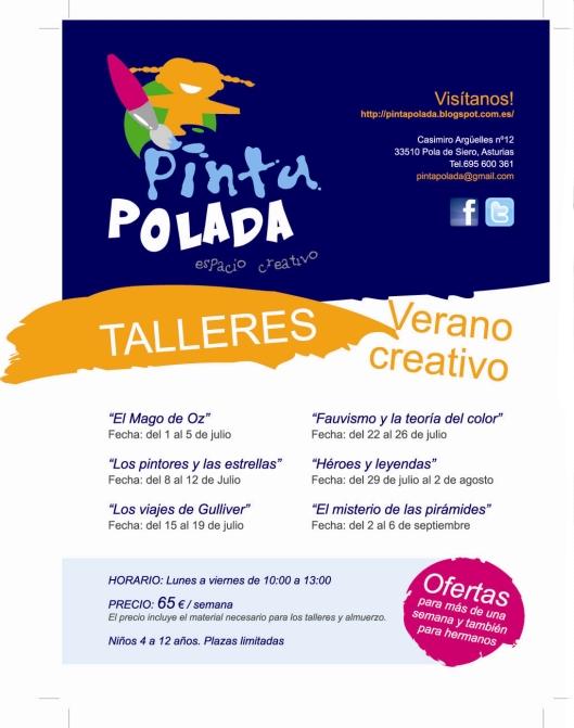 Actividades artísticas para verano en Pola de Siero Asturias
