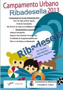 Campamento urbano en Ribadesella