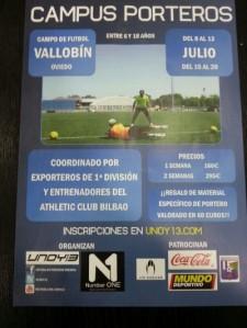 Campus porteros Vallobín club