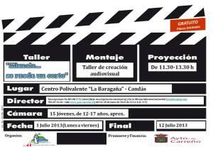 Taller audiovisual en Carreño