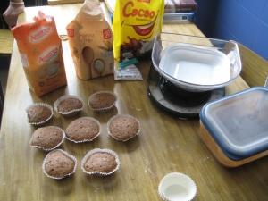 taller de magdalenas para niños y niñas