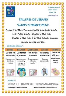 talleres de verano en happy box
