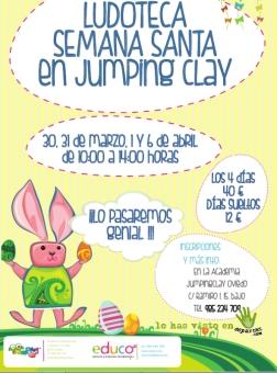 ludoteca jumping clay semana santa