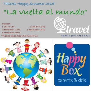 la vuelta al mundo happy box