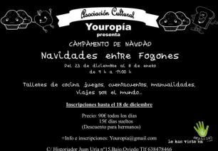 campamento navidad yuropia