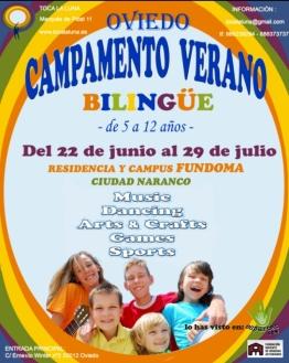 campamento bilingue toca la luna