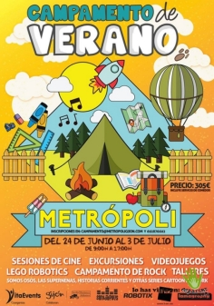 campamento verano metropoli