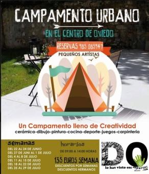 decero creativo campamento urbano
