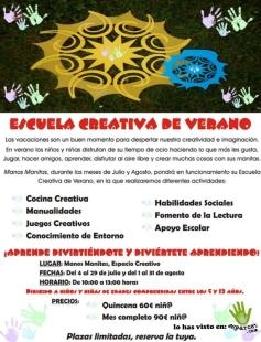 escuela creativa de verano