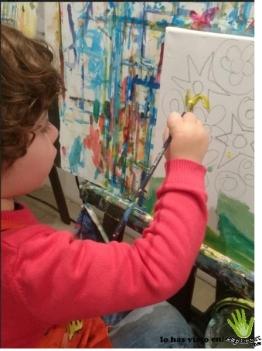 pequeño pintor mukina