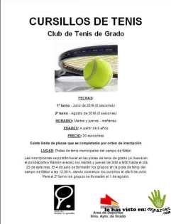 tenis grado